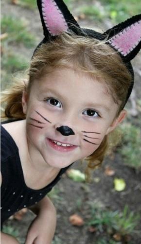 Диадема с ушками. Костюм котенка для детского утренника (3) (290x502, 120Kb)