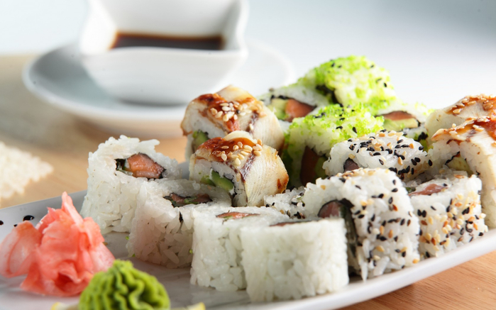 Польза от суши и роллов