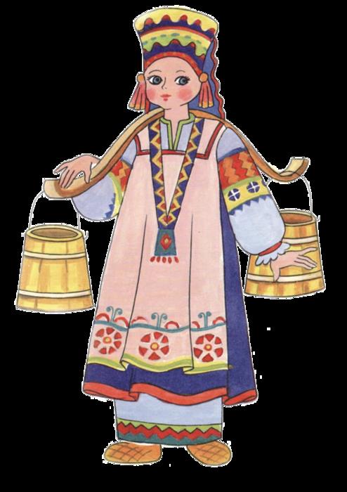 Костюм в русско народный