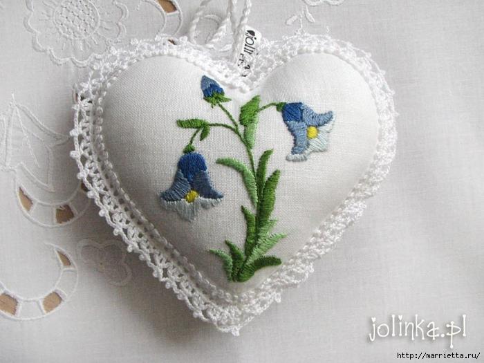 Текстильные сердечки. Большая коллекция очень красивых валентинок (5) (700x525, 246Kb)