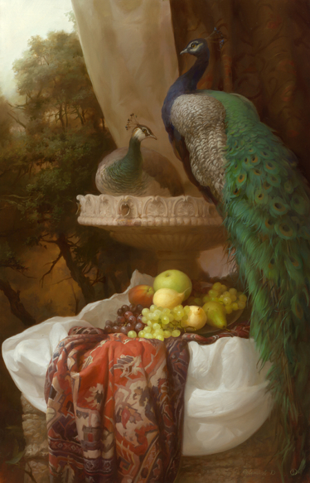 Sevryukov_Peacocks_ooc_110x70cm_2011-large (449x700, 357Kb)