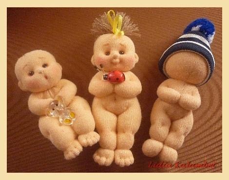 Поделки из капроновых колготок своими руками куклы
