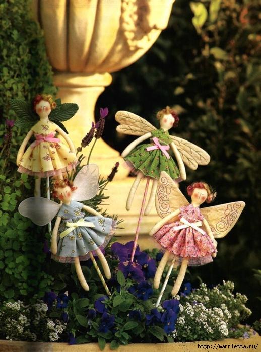 Тильды КУКОЛКИ с крылышками для украшения цветочных горшков (2) (518x700, 318Kb)