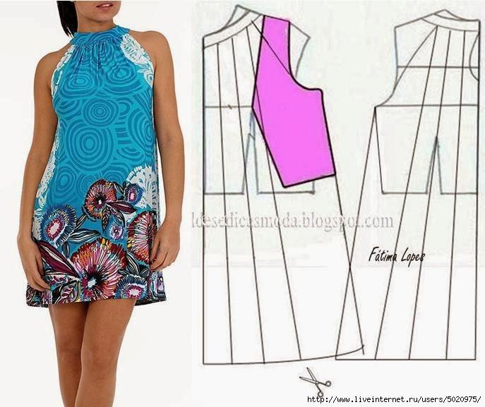 Сшить летнее платье своими руками фото