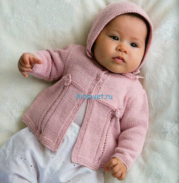 Вязание для малышей кофточки с
