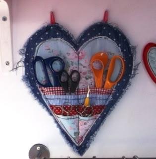 Джинсовые идеи. Органайзер в форме сердца для рукоделия (2) (315x320, 59Kb)