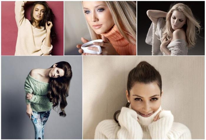 Красивые свитера женские 2014 – комфортабельная пушистая привлекательность (1) (700x478, 264Kb)