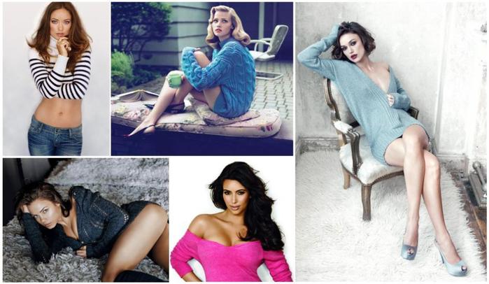 Красивые свитера женские 2014 – комфортабельная пушистая привлекательность (3) (700x406, 274Kb)