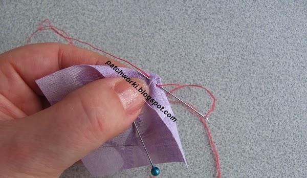 Пэчворк. Создание и сшивание шестиугольников для пледа. Мастер-класс (9) (600x348, 161Kb)