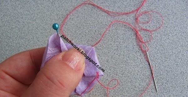 Пэчворк. Создание и сшивание шестиугольников для пледа. Мастер-класс (18) (600x311, 161Kb)