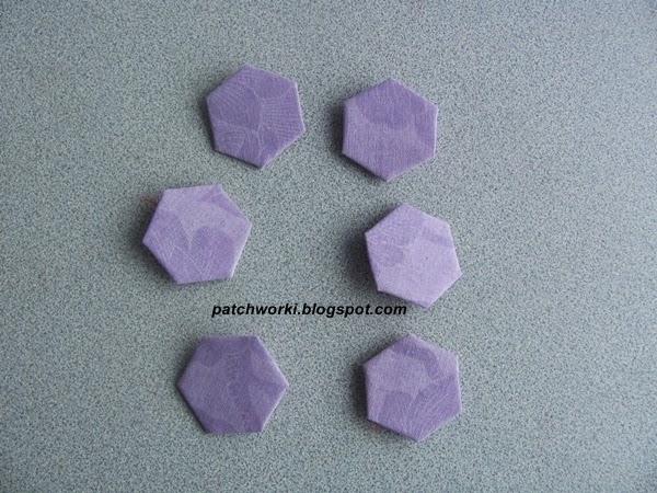 Пэчворк. Создание и сшивание шестиугольников для пледа. Мастер-класс (33) (600x450, 267Kb)