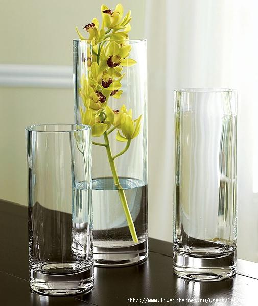 что стеклянные вазы купить прозрачные наступлением