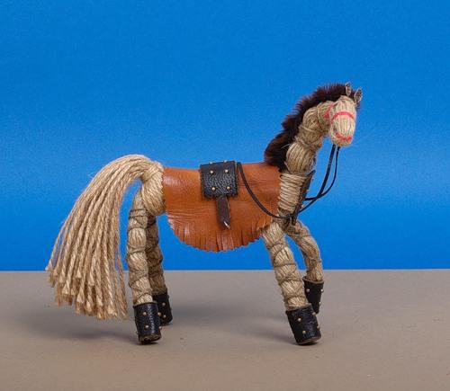 Лошадка из ниток своими руками для детей пошаговое
