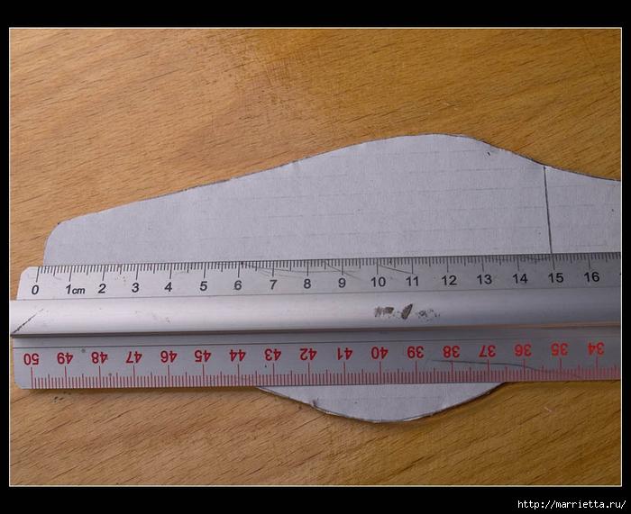 Плетение из газет. ТУФЕЛЬКА на шпильке. Мастер-класс (5) (700x571, 260Kb)