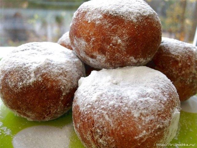 Обалденные ванильные пончики!