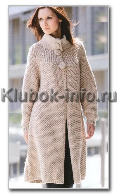 красивое вязаное платье для