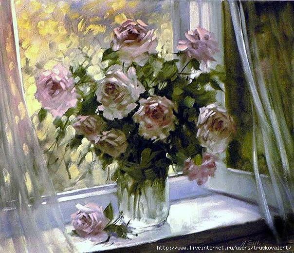 розы на окне по картине ю николаева мужские попки