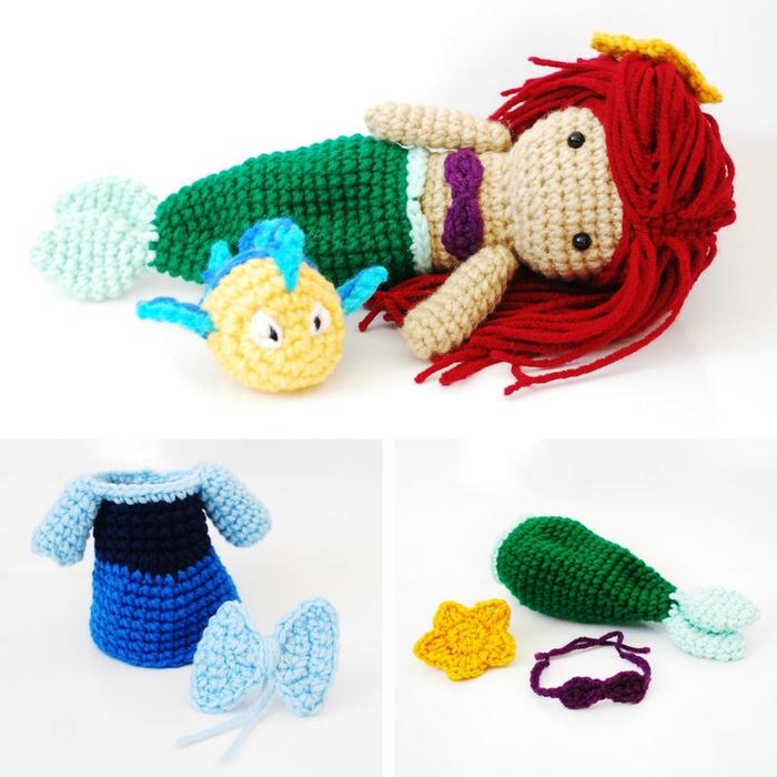 ariel__the_little_mermaid__crochet_amigurumi_doll__by_cyanrosecreations-d4qesym (700x700, 245Kb)