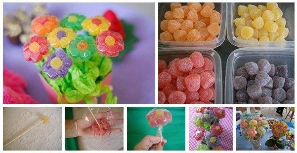 Простые букеты из конфет своими руками пошаговое фото для начинающих