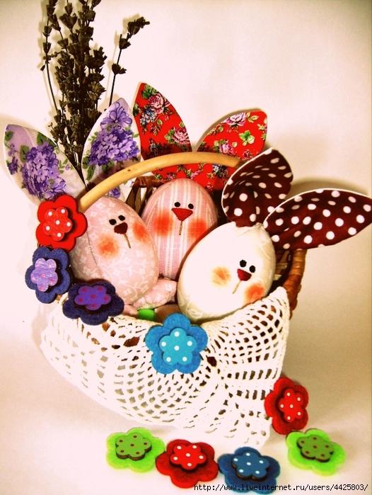 Шьем пасхальные яйца-веселые зайцы. Идеи и мастер-класс. Обсуждение на LiveInternet - Российский Сервис Онлайн-Дневников
