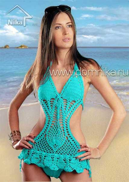 Размер вязаного купальника: