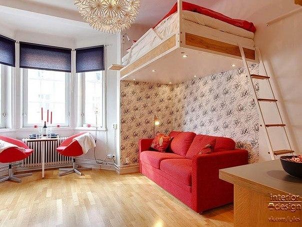дизайн маленьких квартир (7) (604x453, 205Kb)