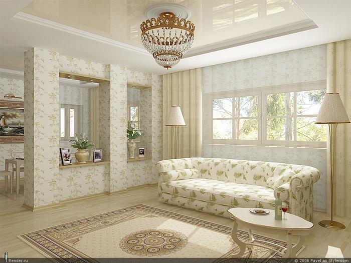 Дизайн интерьера гостиной в квартирах
