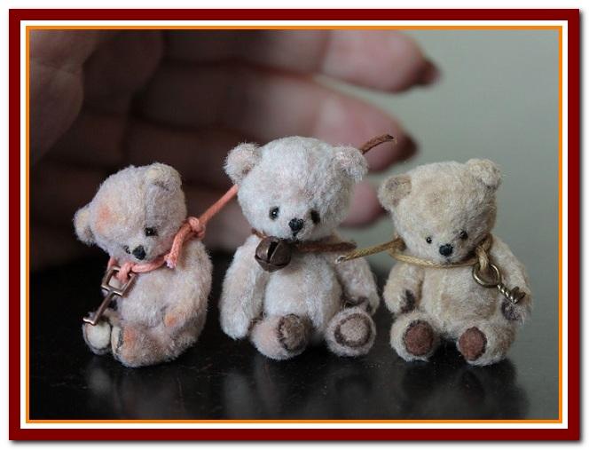 Мишки миниатюрные сшить своими руками 59