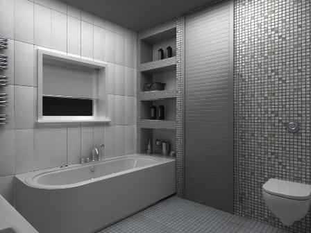Рольставни в ванной: необычное решение в дизайне интерьера.