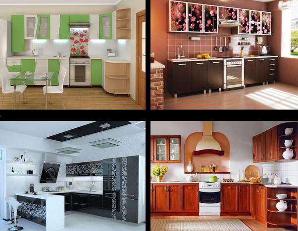 планировка кухонь