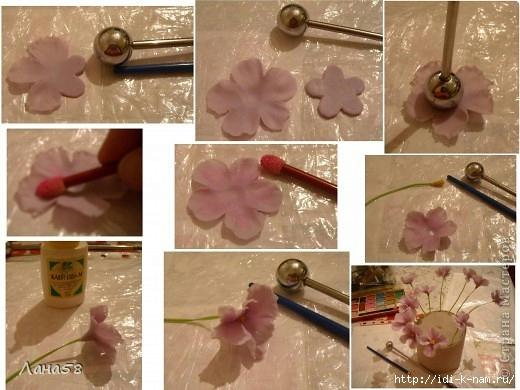 Холодный фарфор для лепки цветов своими руками