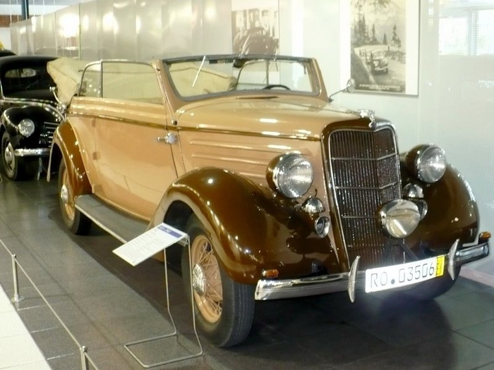 Ford Convertible Cabriolet из бумаги (9) (700x525, 314Kb)