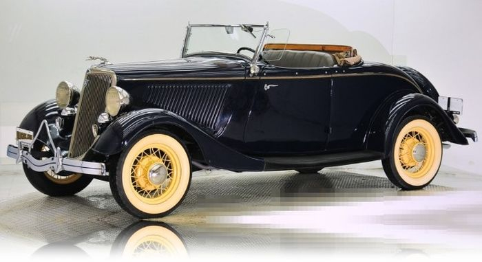 Ford Convertible Cabriolet из бумаги (17) (700x381, 162Kb)