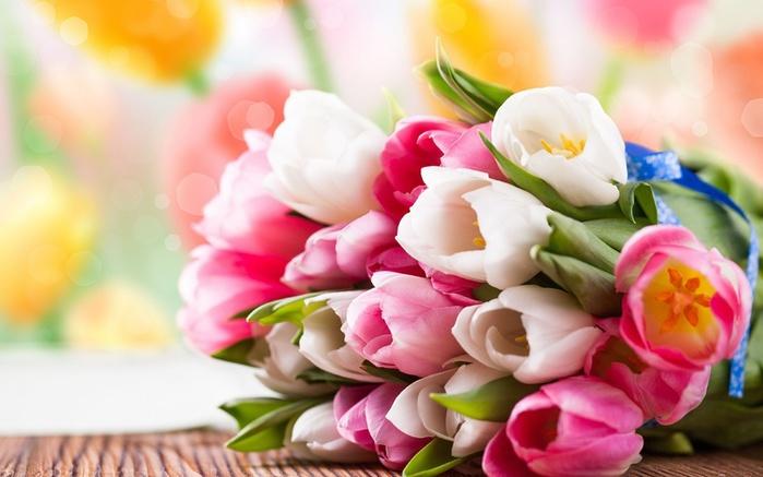 Картинки цветы 1366х768 6