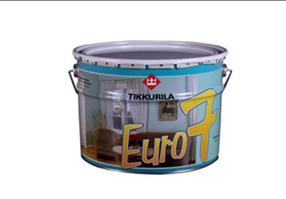 КРАСКА ТИККУРИЛА ЕВРО 7 - матовая латексная краска на основе акрилового сополимера.