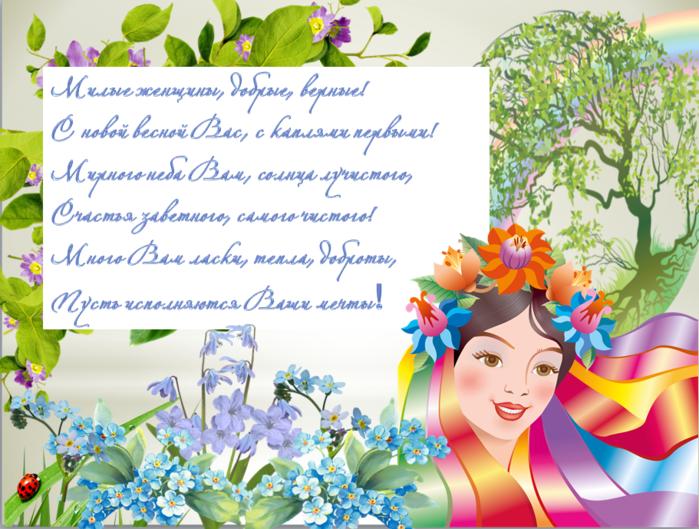 Поздравление с днем рождения учительнице на украинском языке