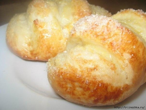 Вкуснейшие ванильные булочки с сахаром!