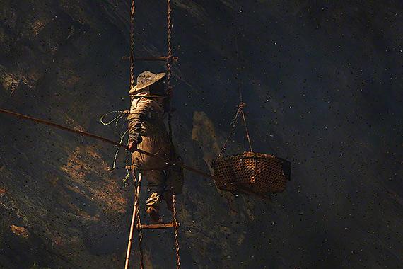 охотники за медом непал фото 1 (570x380, 229Kb)