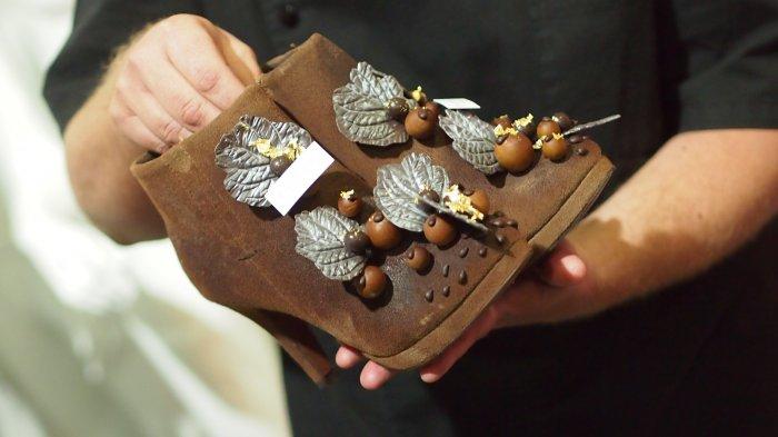 Salon du Chocolat шоколадная мода в брюсселе 10 (700x393, 177Kb)