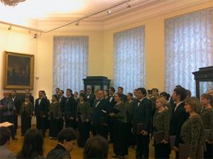Концерт Саратовского губернского театра хоровой музыки