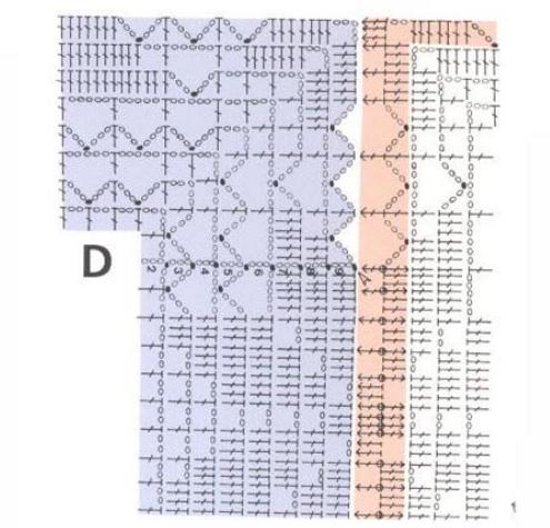 Вязание крючком. Скатерти и бабочки для украшения. Схемы (8) (495x475, 315Kb)
