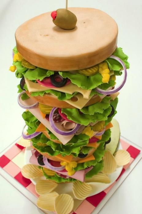 прикольный торт BethAnn Goldberg (463x700, 184Kb)