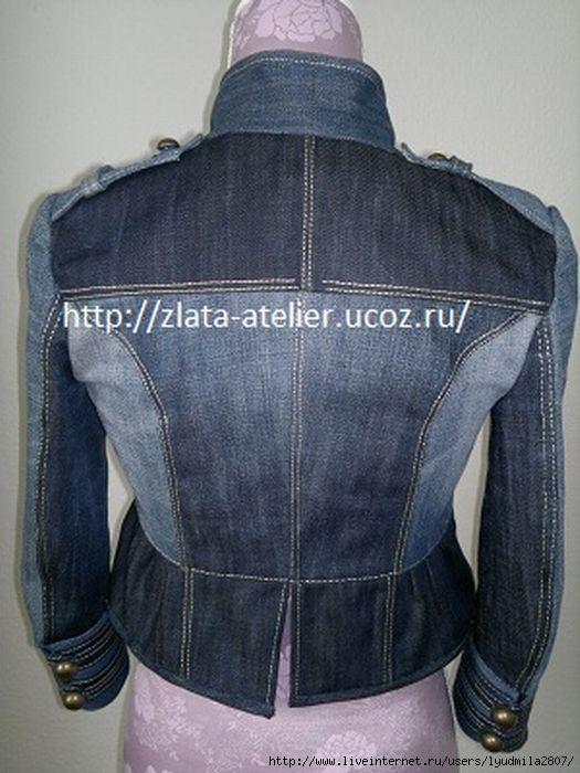 Как сшить куртку для мальчика из старых джинс фото 247