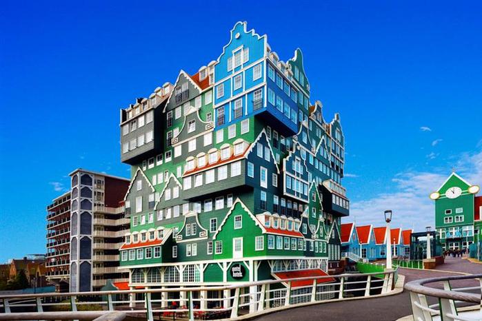 отель иннтел амстердам фото 1 (700x466, 360Kb)
