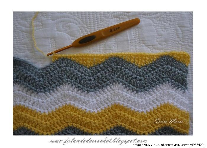 Вязание прямым полотном