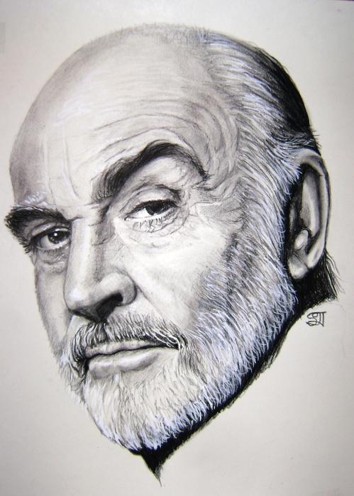портрет Шона Коннери 004 (499x700, 189Kb)