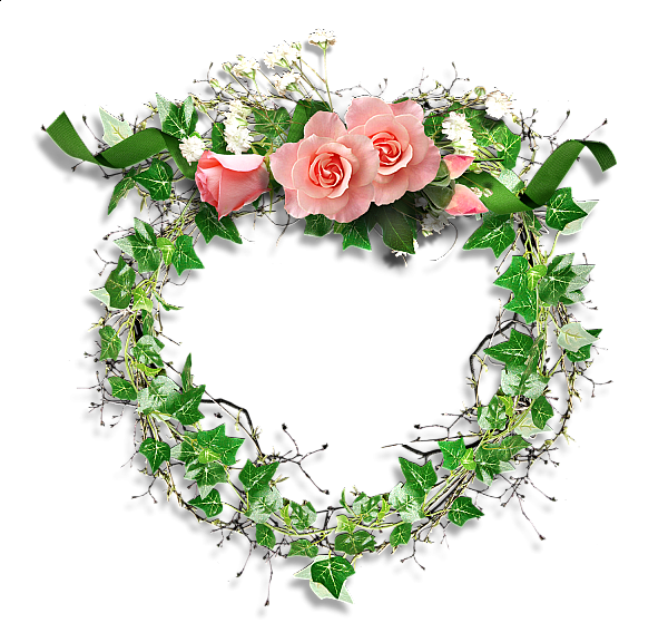 Transparent_Frame_Leaves_and_Roses (600x576, 382Kb)