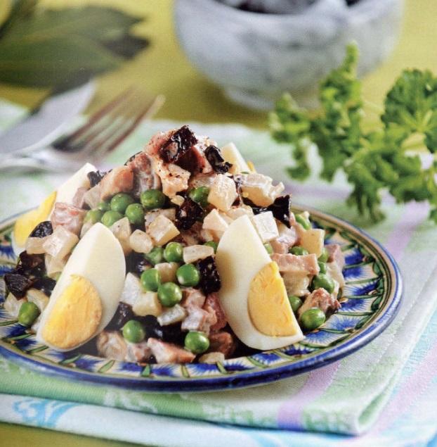 Татарские блюда рецепты с салаты