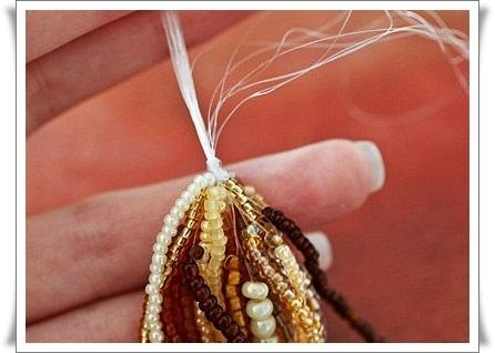 Мастер-класс по плетнию многорядных бус из бисера.