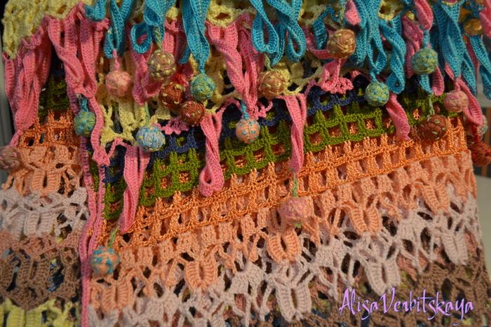 钩针:窗帘欢乐广场 - maomao - 我随心动